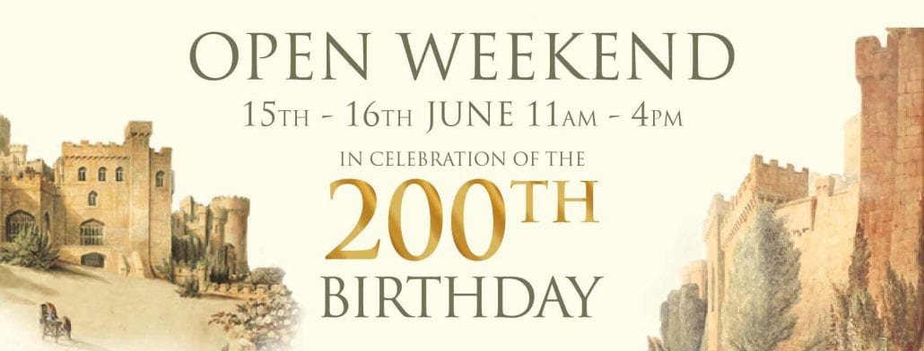 Gwrych Castle - 200th Birthday  15th to 16th June 2019
